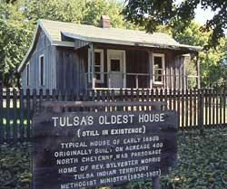 Tulsa's Oldest House